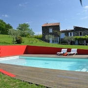 House With 5 Bedrooms in Saint-lager-bressac, With Private Pool, Furnished Garden and Wifi - 167 km From the Beach