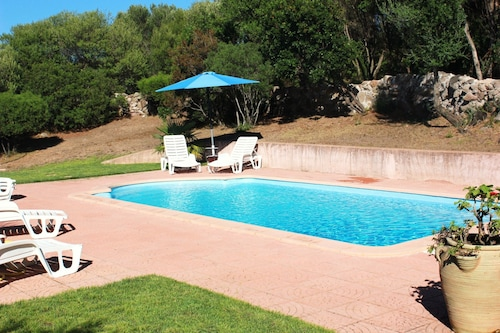 Villa With 3 Bedrooms in Ste Lucie de Porto Vecchio, With Wonderful Mountain View, Private Pool and Wifi - 1 km From the Beach
