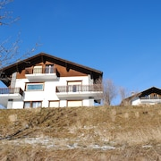 Apartment 55 m2, 1 Br/1br, With Panoramic View on the Swiss Alps