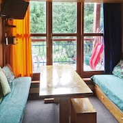 Comfortable Apartment With Balcony and Mountain View, 150 Meters From Les Arcs 1800