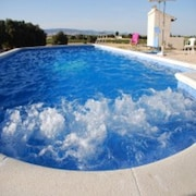 Rural House With 5 Rooms in Daimiel, With Private Pool and Wifi - 300 km From the Slopes