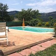 House With 2 Bedrooms in Tagamanent, With Wonderful Mountain View, Pool Access, Furnished Terrace