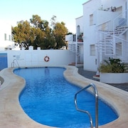 Apartment With 2 Bedrooms in San José de Nijar, With Pool Access and Wifi - 50 m From the Beach