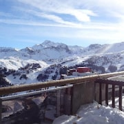 Apartment With one Bedroom in La Plagne Aime 2000, With Wonderful Mountain View, Furnished Terrace and Wifi - 50 m From the Slopes