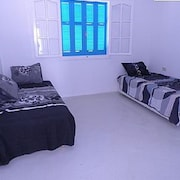 House With 3 Rooms in Djerba Midoun, With Wonderful sea View, Terrace and Wifi - 800 m From the Beach