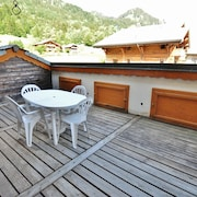 Apartment With 3 Bedrooms in La Chapelle-d'abondance, With Wonderful Mountain View and Furnished Garden - 200 m From the Slopes