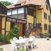 Apartment With one Bedroom in Sondernach, With Wonderful Mountain View, Furnished Garden and Wifi - 6 km From the Slopes