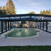 House With 5 Bedrooms in Verdun-en-lauragais, With Pool Access and Wifi - 7 km From the Beach