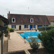 House With 3 Bedrooms in Thevet-saint-julien, With Private Pool, Enclosed Garden and Wifi