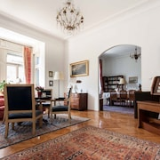 Elegant Apartment in the Centre of Budapest With Views of the Danube and City, Sleeps 6