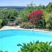 Country House in the Midi-pyrenées, With Large Garden, 3 Terraces and Swimming Pool