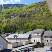 Apartment With 2 Bedrooms in Bagnères-de-luchon, With Wonderful Mountain View and Furnished Balcony