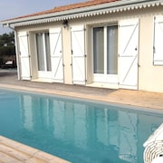 House With 3 Bedrooms in Vensac Ocean, With Private Pool, Enclosed Garden and Wifi - 1 km From the Beach