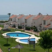 House With 3 Bedrooms in Marina de Casares, With Wonderful sea View, Pool Access, Enclosed Garden - 10 m From the Beach