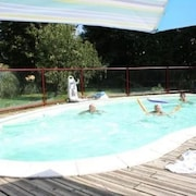 Equestrian House With 3 Rooms in Nivillac, With Pool Access, Furnished Terrace and Wifi