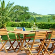 Apartment With one Bedroom in Volterra, With Wonderful Mountain View, Private Pool and Enclosed Garden