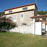 House With 2 Bedrooms in Camposancos, With Wonderful sea View, Enclosed Garden and Wifi - 800 m From the Beach