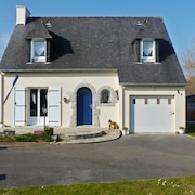 Enchanting Villa in the Finistère With Garden & Wifi, 20min From Quimper, 50 Metres From Larvor Beach