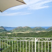 Stunning Villa Apartment in Barbaggio w/ BBQ Terrace, Kids Pool, Wifi, Mountain- & sea Views