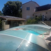 Villa With 5 Bedrooms in Massillargues-attuech, With Private Pool, Enclosed Garden and Wifi