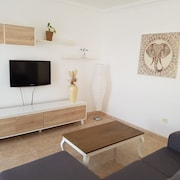 Apartment With 2 Bedrooms in Tías, With Wonderful sea View and Terrace - 2 km From the Beach