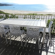Apartment With 2 Bedrooms in Coggia, With Wonderful sea View, Furnished Terrace and Wifi - 200 m From the Beach