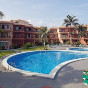 Apartment With one Bedroom in Breña Baja, With Wonderful sea View, Pool Access, Furnished Terrace