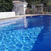 House With 5 Bedrooms in La Guardia de Jaén, With Wonderful Mountain View, Private Pool, Enclosed Garden