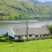 Sunny and Spacious Semi-detached House in Verdant Rural Ireland With Magnificent View of Lough Mask