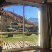 Apartment With 2 Rooms in Vars, With Wonderful Mountain View and Furnished Garden - 300 m From the Slopes