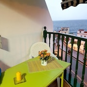 Apartment With one Bedroom in Santiago del Teide, With Wonderful sea View, Balcony and Wifi - 50 m From the Beach