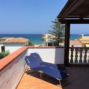 Apartment With 4 Rooms in Balata di Baida, With Wonderful sea View, Furnished Balcony and Wifi