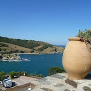 Apartment With one Room in Banyuls-sur-mer, With Wonderful sea View, Enclosed Garden and Wifi