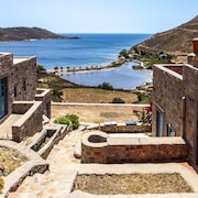 House With 4 Rooms on Patmos Island, With Wonderful sea View, Furnished Terrace and Wifi