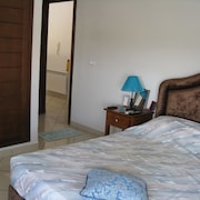 Apartment With 2 Rooms in Hammamet, With Wonderful sea View, Pool Access, Balcony