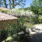 House With 2 Bedrooms in Tourrettes, With Wonderful Mountain View, Furnished Garden and Wifi - 15 km From the Beach