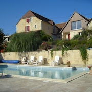 Property With 2 Bedrooms in Thenon, With Pool Access, Furnished Garden and Wifi