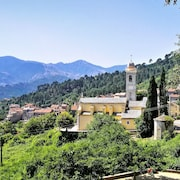 Spacious One-bedroom Apartment in a Scenic Village in Upper Corsica, With Beautiful Mountain Views
