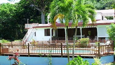Apartment With 2 Bedrooms in Deshaies, With Private Pool, Enclosed Garden and Wifi - 1 km From the Beach