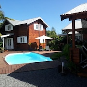 Bungalow With one Bedroom in Saint-joseph, With Wonderful Mountain View, Pool Access, Furnished Garden