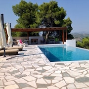 Luxury Villa With 5 Rooms in Porto Heli With Panoramic Views, Private Pool and Furnished Terrace