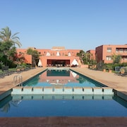 Luxurious Apartment in Marrakech With Balcony and View of the Garden and Mountain