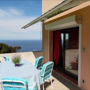 Apartment With 2 Bedrooms in Morsiglia, With Wonderful sea View, Enclosed Garden and Wifi - 2 km From the Beach
