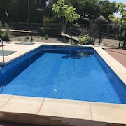 House With 4 Bedrooms in Ciudad Real, With Wonderful Mountain View, Private Pool and Enclosed Garden