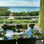 Apartment With one Room in Sainte-anne, With Wonderful sea View, Pool Access, Furnished Balcony