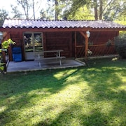 Chalet With 2 Bedrooms in Saint-genest-de-beauzon, With Enclosed Garden and Wifi