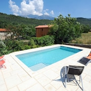 House With 2 Bedrooms in Fuilla, With Wonderful Mountain View, Pool Access, Furnished Terrace - 50 km From the Slopes