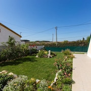 House With 3 Bedrooms in São Bartolomeu de Galegos, With Enclosed Garden and Wifi - 7 km From the Beach