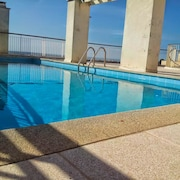 Apartment With one Bedroom in Le Cannet, With Wonderful sea View, Pool Access, Furnished Terrace - 3 km From the Beach