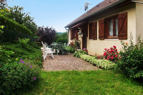 House With 4 Bedrooms in Aumontzey, With Wonderful Mountain View, Furnished Garden and Wifi - 13 km From the Slopes